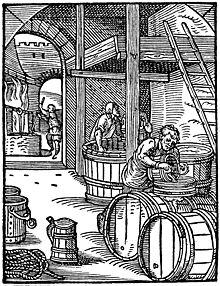 Пивовар из книги Йоста Аманна Ständebuch (1568 г.), ru.wikipedia.org